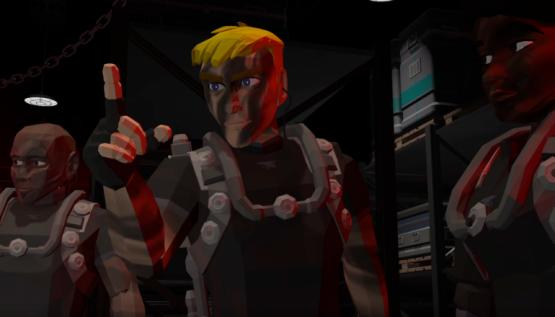 A scene from the animated film NASA Seals made with motion capture by Noitom and animation software by Reallusion.