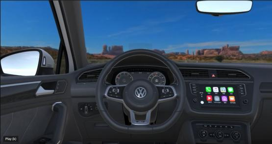 Noitom develops virtual reality test drive for the Volkswagen Tiguan.